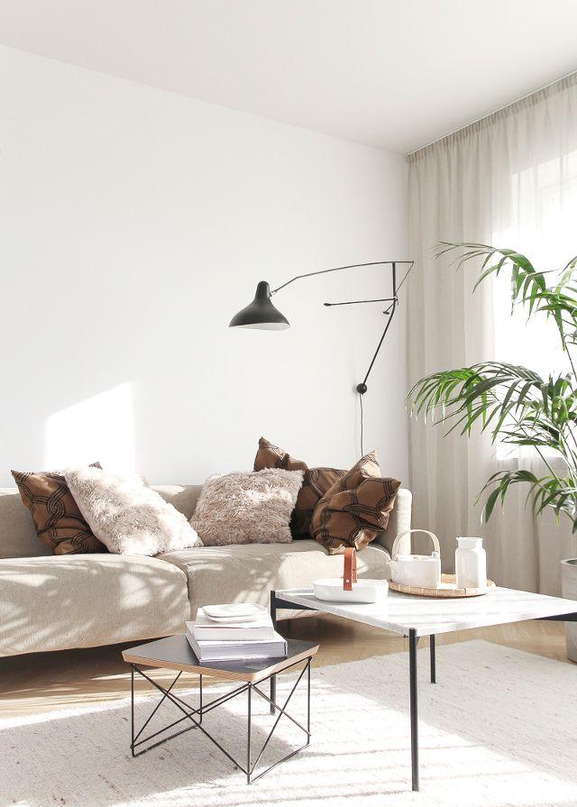decoración de interiores en colores neutros
