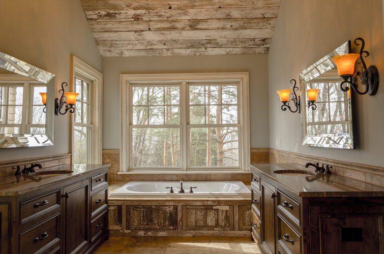 bañeras rusticas