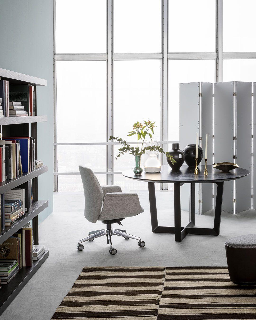 oficina con planta