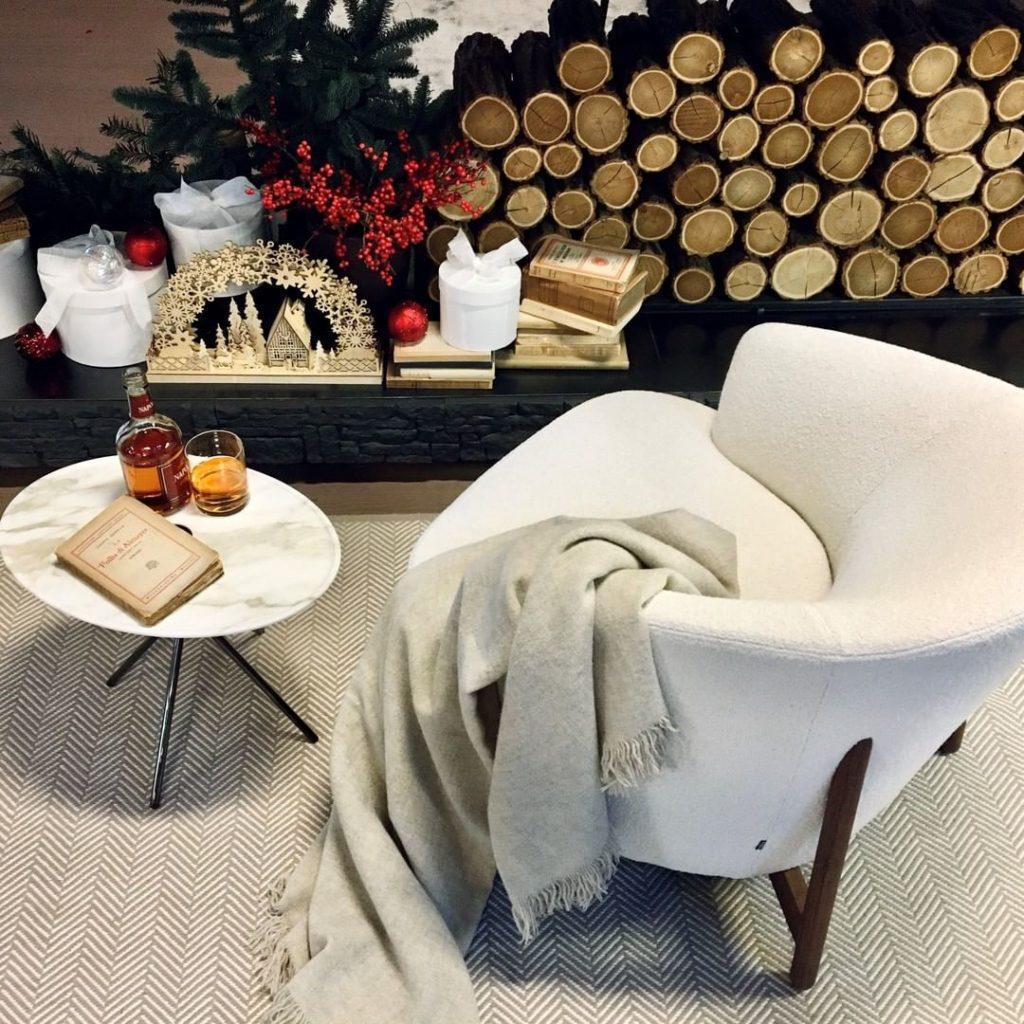 decoración para invierno